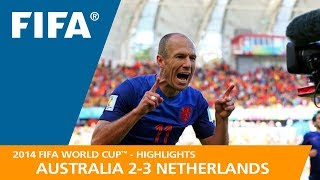 AUSTRALIA v NETHERLANDS (2:3) - 2014 FIFA World Cup™