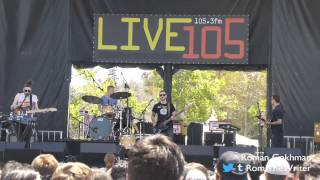 """Bear Hands, """"Bad Friend"""" - 20th annual Live 105 BFD - June 1, 2014"""