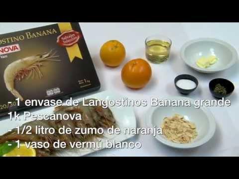 Imagen de la receta de Langostinos al Champán