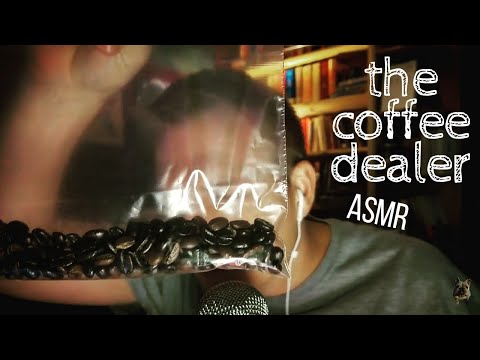 ASMR | the coffee dealer (Crinkles, Pouring, Bean Sounds)