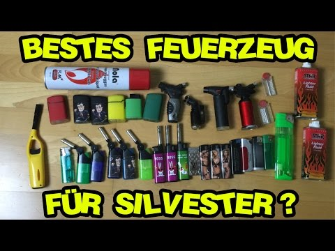 Bestes Feuerzeug/Gasbrenner/Sturmfeuerzeug für Silvester 2016/17? | Kauftipps !