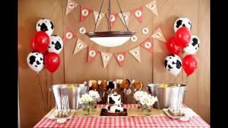 Fascinating Cowboy Birthday Party Decorations Ideas