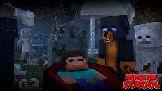 Monster School : IS HEROBRINE DEAD FOREVER?? - Minecraft Animation