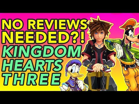 Kingdom Hearts III Is An Unreviewable Video Game