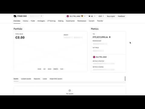 How to change currencies on Stake DAO video thumbnail