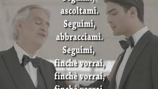 Fall On Me (ITALIAN VERSION)   Andrea E Matteo Bocelli Con TESTO