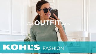 August Outfit Haul   The Outfit Bar At Kohl's