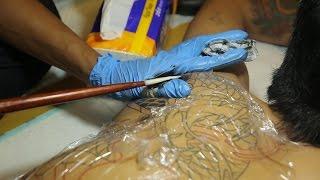 Traditional Tattoos (Part III) - Traditional Japanese Irezumi Tebori Tattoo