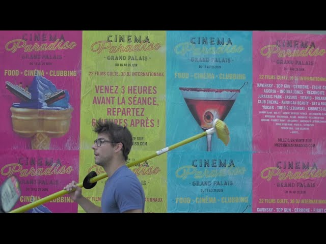 Brand Content pour Cinema Paradiso au Grand Palais