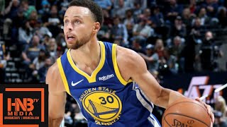 Golden State Warriors vs Utah Jazz Full Game Highlights | 10.19.2018, NBA Season