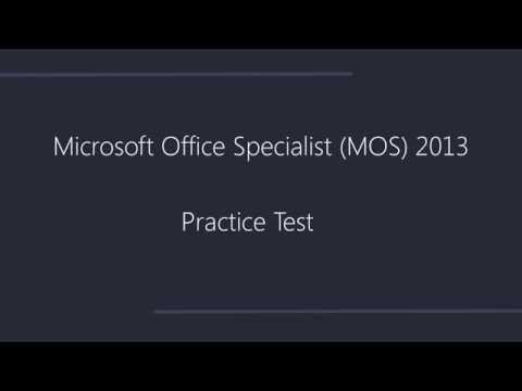 OfficePrep - Practice Tests for Microsoft Office Specialist 2013 ...