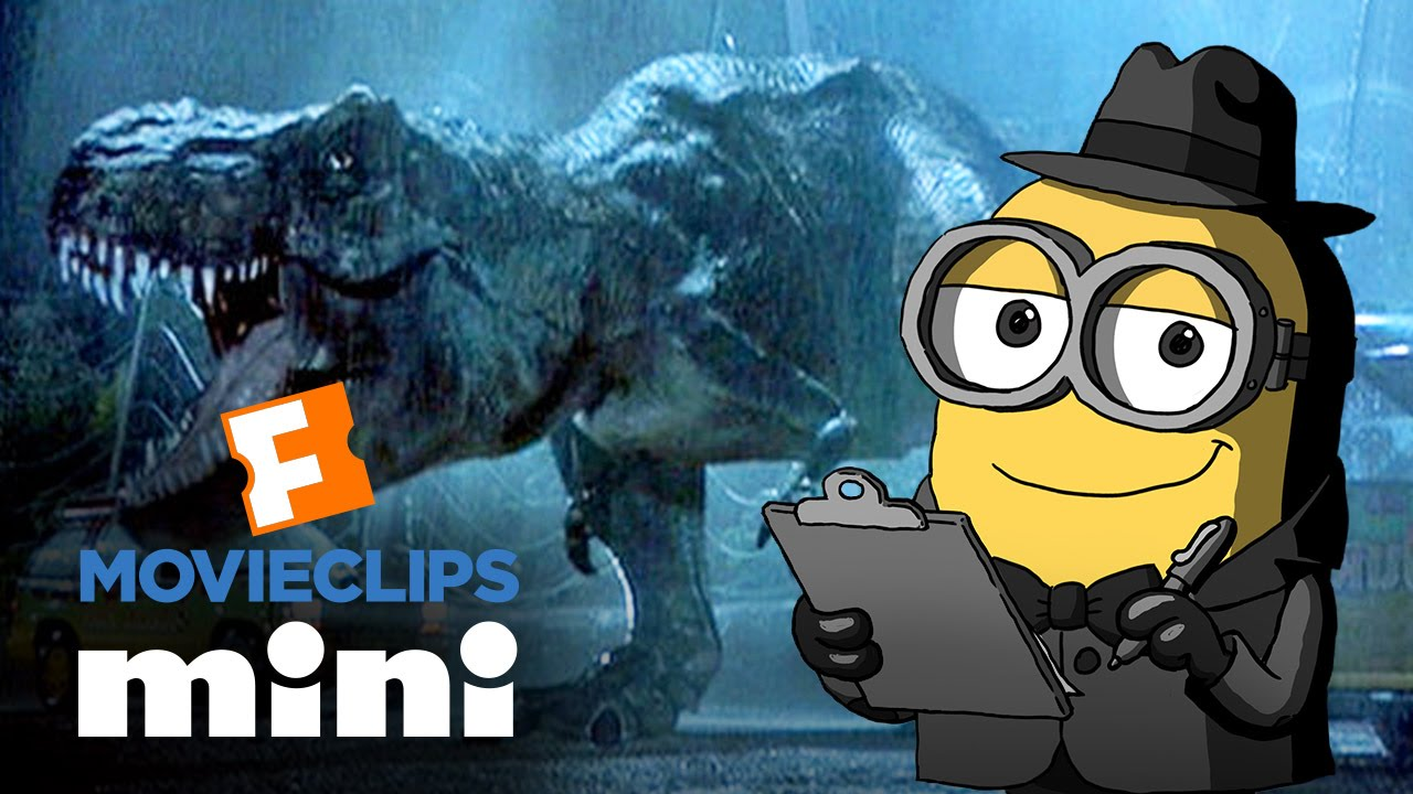 Movieclips Mini: Jurassic Park – Brian the Minion (2015) Minion Movie HD #Estrenos #Trailers