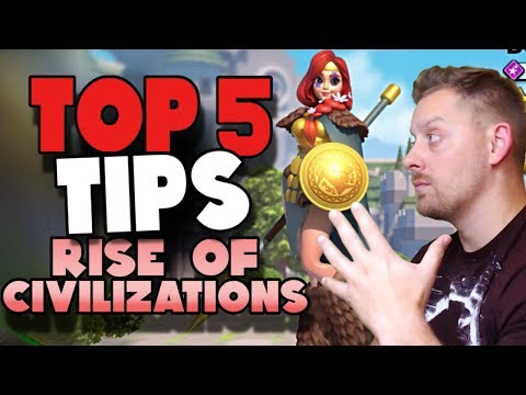 Rise of Civilizations | TOP 5 Tips for NEW Players