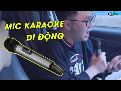 Micro Karaoke di động Excelvan K18V