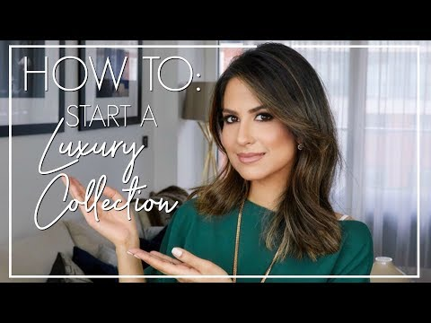 HOW TO START A LUXURY COLLECTION | Luxury Fashion Collection