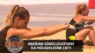 Nagihan Gönüllüler Takımı Adına Parkurda | 22.Bölüm | Survivor 2018