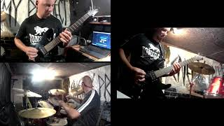 Video my rehearsal metalcore song - Know your enemy