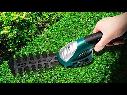 Садовый аккумуляторный триммер для стрижки травы и живой изгороди POSENPRO