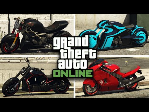 GTA 5 Online - BEST MOTORCYCLE TO CUSTOMIZE IN GTA V Online [RARE & SECRET  CARS & CUSTOMIZATION] - CONE 11