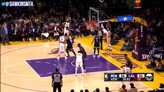 Jamal Crawford Full Highlights in 2017 Christmas Day at Lakers - 19 Pts in 19 Mins!