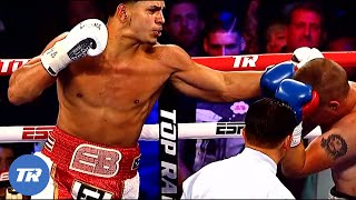 Inside The Power of Edgar Berlanga, 13 fights, 13 1st Rd Knockouts