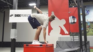 Freeze Frame Football Battle | Dude Perfect