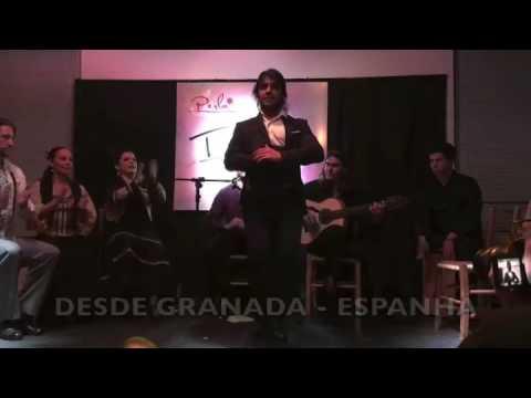 Desde Granada-Espanha Ivan Vargas no Tablao Perla Flamenca
