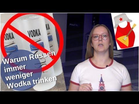 Warum Russen immer weniger Wodka trinken [Video]