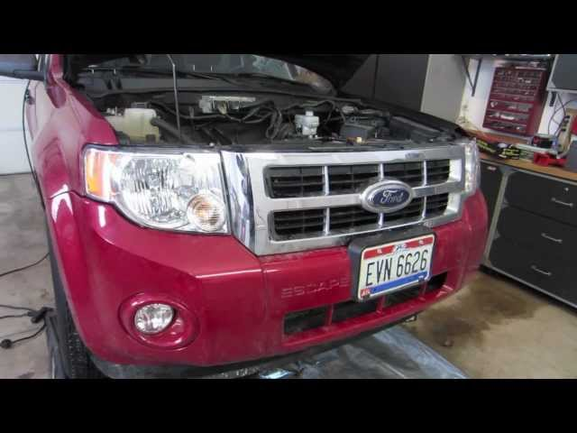 ford focus how to change transmission fluid