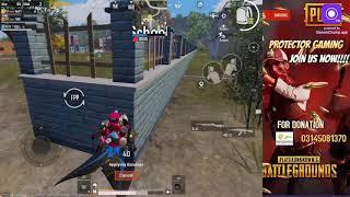 Pubg Mobile live Pakistan   classic fun + rooms   Protector Gaming