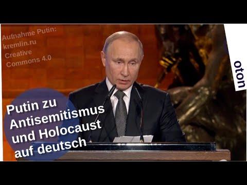 Putin zu Antisemitismus und Holocaust auf deutsch [Video]