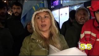 SAMSUN'DA SURUÇ GÖZALTILARI PROTESTO EDİLDİ...!