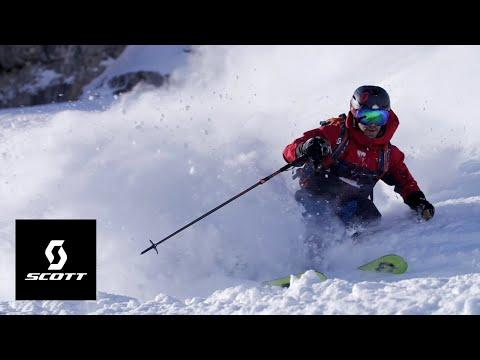 SCOTT Winter Pro Team feat, the SCOTT Scrapper family