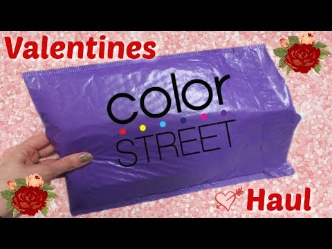 Color Street Unboxing - Valentine's Day Collection 2019!