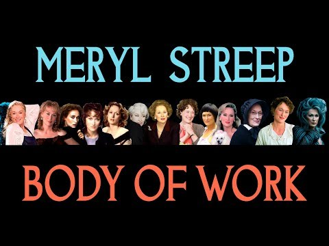 Meryl Streep - 'Body of Work'