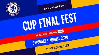 Chelsea v Arsenal | Cup Final Fest Hosted by Trevor Nelson feat. Timo Werner & Matthew McConaughey!