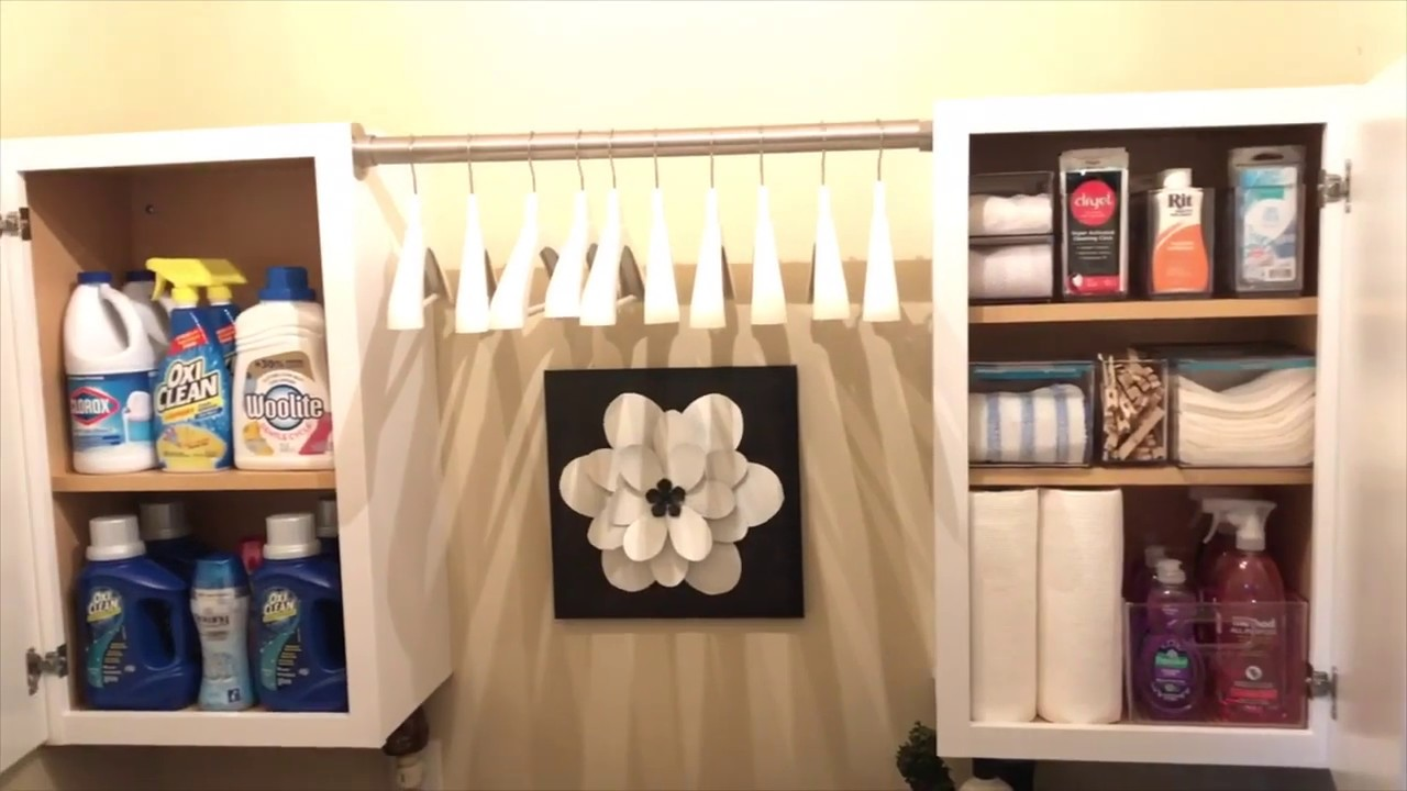 How To Organize A Small Laundry Room by Denise Cooper