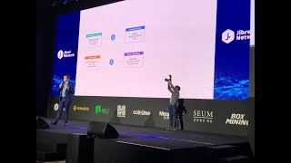 Live: Blockchain Revolution - Biggest Blockchain event in South Korea! (Host: Jibrel Network)
