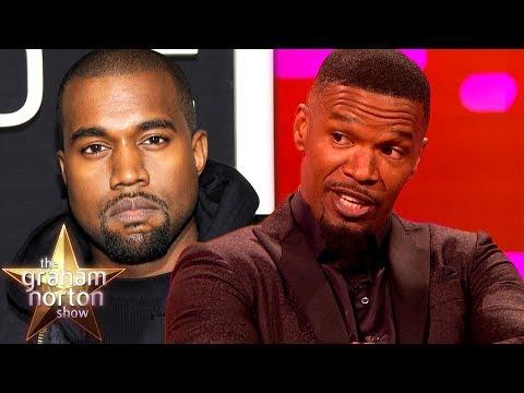 Jamie Foxx Does a Brilliant Kanye West Impression | The Graham Norton Show