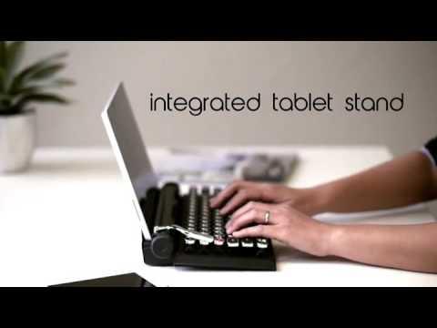 Wireless Typewriter Keyboard