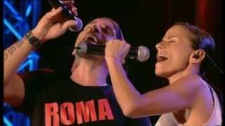 Eros Ramazzotti e Antonella Bucci - Amarti è l'immenso per me (Eros Roma Live)