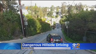 Steep Street Controversy In Echo Park