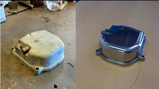 Engine Cover Restoration - 139QMB How to polish engine cover