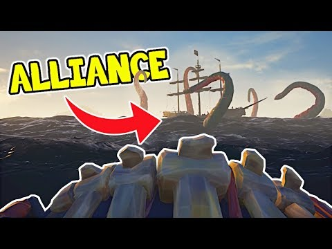 Trolling My Alliance! - Sea of Thieves Gameplay