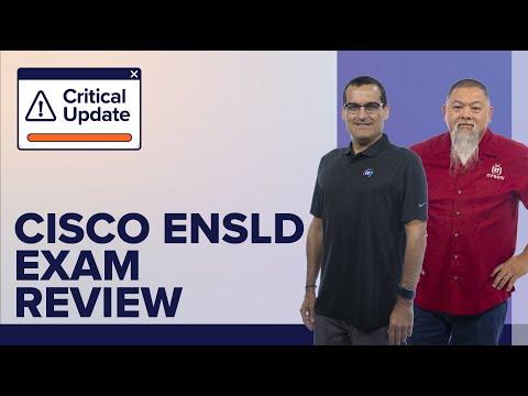 Cisco CCNP ENSLD (300-420) Exam Review   Video Training with ...