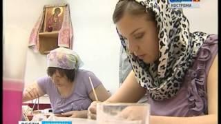 Иконописная школа посёлка Красное на Волге Костромского края