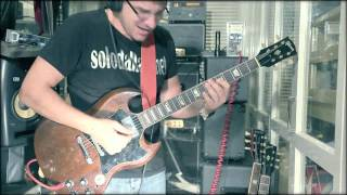 "AC/DC's ""Shot Down In Flames"", The Schaffer Replica™ Series (SoloDallas cover)"