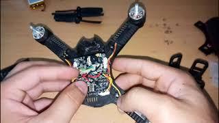 MJX Bugs 3 mini / khám phá cấu tạo bên Bugs 3 mini