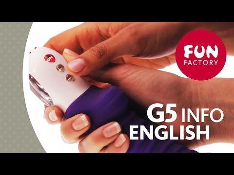 Vibrador Recarregável Patchy Paul G5 Neon Orange - Fun Factory