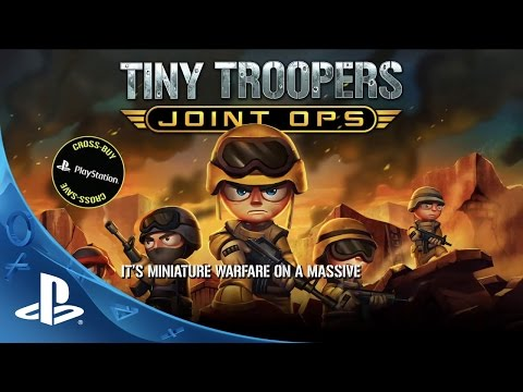 Tiny Troopers Joint Ops -- Features Trailer | PS4, PS3, PS Vita thumbnail